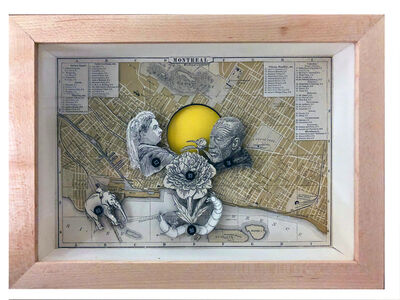 Edgar Endress, 'Cartographies of Extractions', 2018