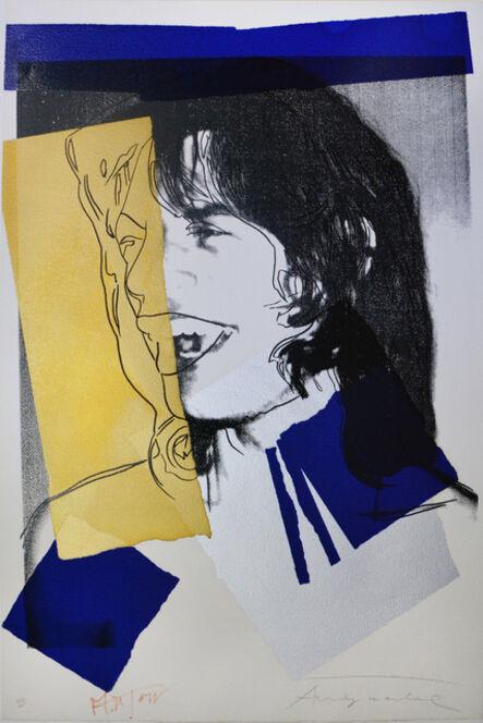 Andy Warhol, 'Mick Jagger (F. & S. II.142)', 1975