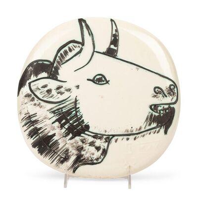 Pablo Picasso, 'Profil de taureau (A.R. 315)', 1956