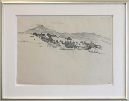 Georgia O'Keeffe, 'Untitled New Mexico Landscape', ca. 1934