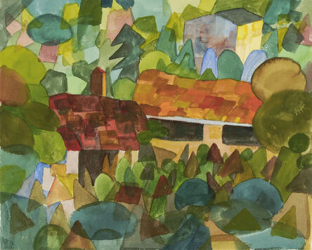 Hermann Hesse, 'Tessiner Landschaft', 1922