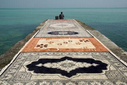 Jalal Sepehr, 'Water & Persian Rugs', 2004