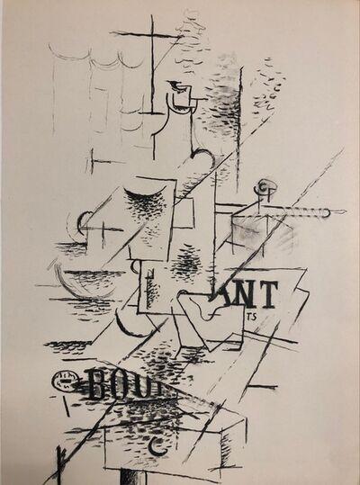 Georges Braque, 'Papiers collés', 1963