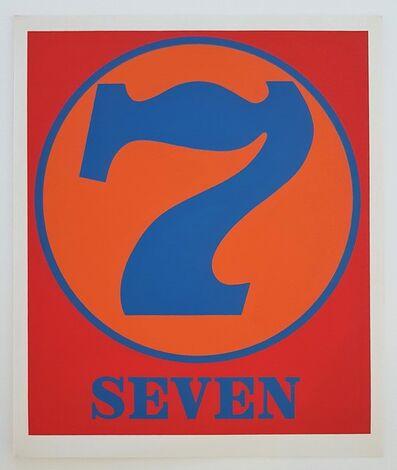 """Robert Indiana, 'Numbers Suite: """"Seven""""', 1968"""