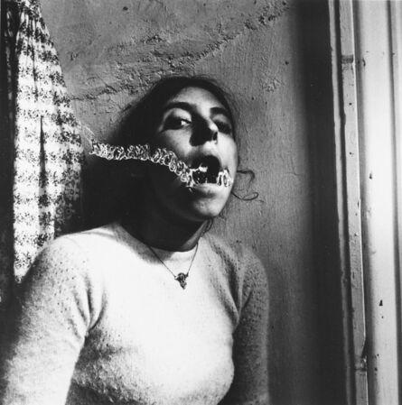 Francesca Woodman, 'Self Portrait, talking to Vince, Providence, Rhode Island'