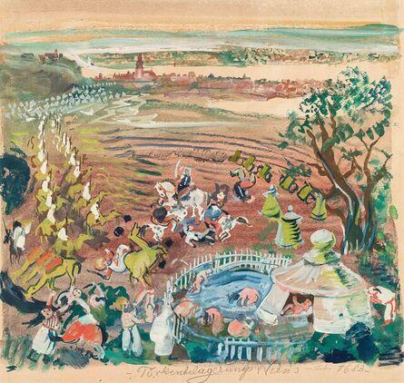Oskar Laske, 'Turkish Besiegement of Vienna 1683', ca. 1940