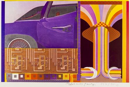 Eduardo Paolozzi, 'Totems and Taboos of the nine to five day (19) (Sidey 831)', 1965-70