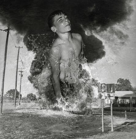 Jeffrey Silverthorne, 'Boy rising, Kansas', 2012