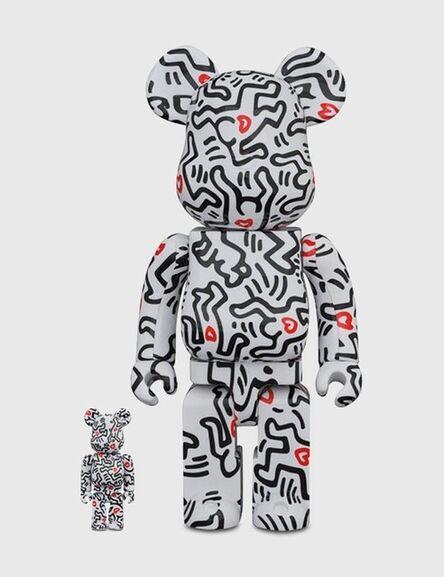 Keith Haring, 'Bearbrick 400% & 100% 8', 2021