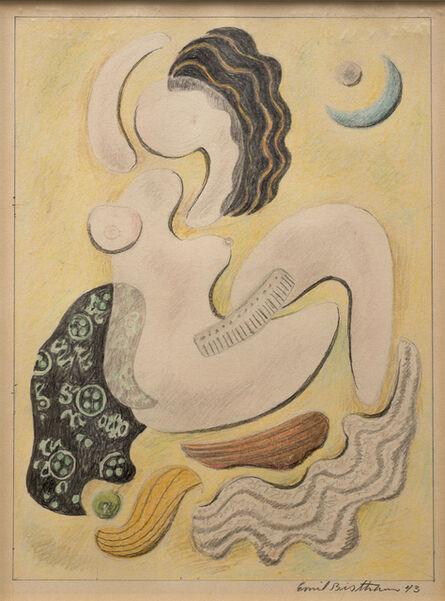 Emil Bisttram, 'Aphrodite', 1943