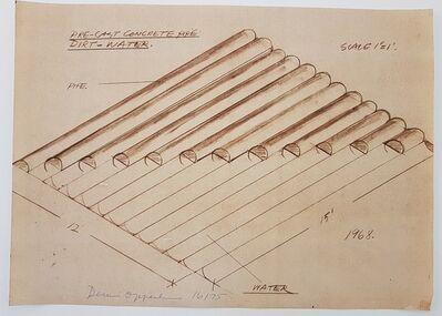 Dennis Oppenheim, 'Construction Drawing', 1968