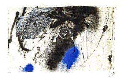 "Antoni Clavé, 'Original Lithograph ""Blue Abstract Composition"" by Antoni Clave', Circa 1946"