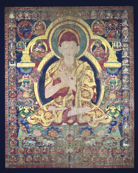 'Sonam Gyaltsen with Sakya Order Teaching Lineages', ca. 1667