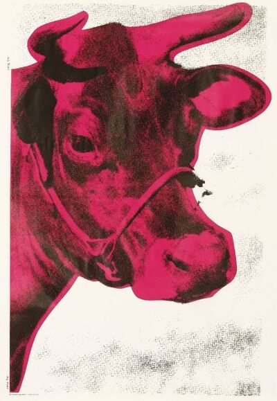 Andy Warhol, 'Cow Poster', 1976