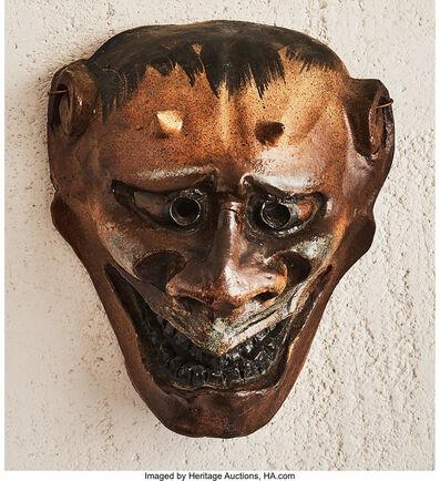 Atelier de Breteuil, 'Japonesque Oni Mask', circa 1900