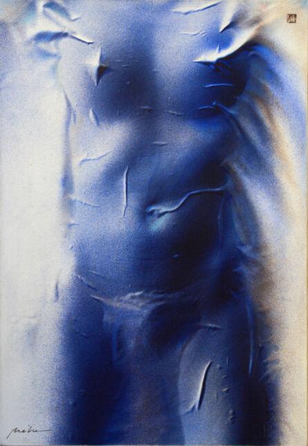 László Méhes, 'Nude', 1986