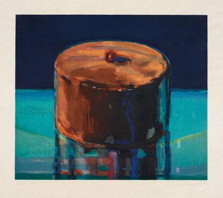 Wayne Thiebaud, 'Dark Cake', 1983