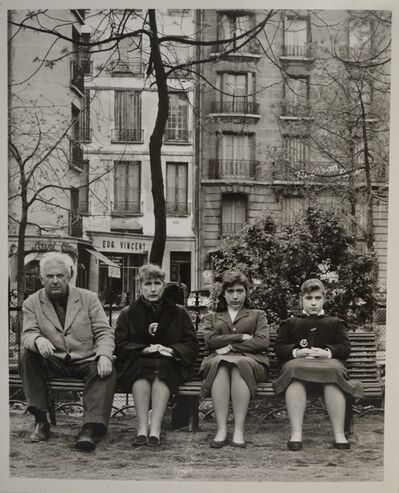 Agnès Varda, 'Calder et sa famille  ', 1954