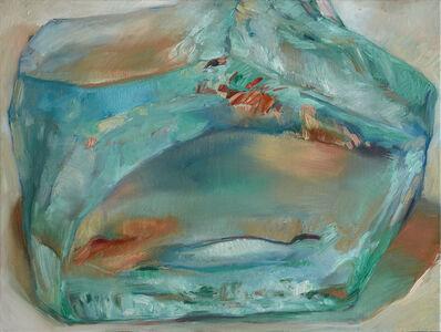 Margaret Lazzari, 'Light in Glass Aqua', 2020