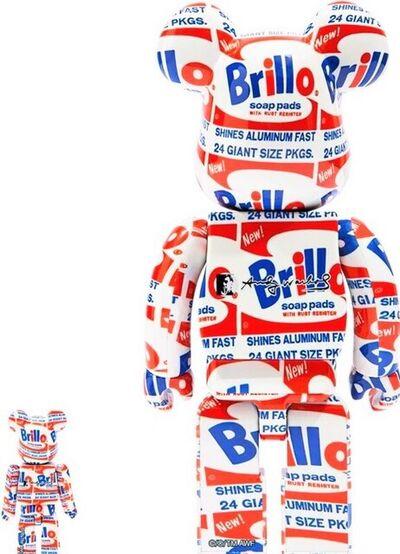 BE@RBRICK, 'Andy Warhol Brillo', 2021