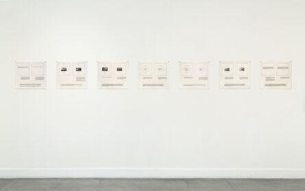 Marie Yates, 'Texts', 1977