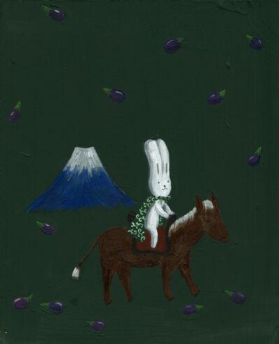 Atsushi Kaga, 'Mt Fuji and aubergines', 2014