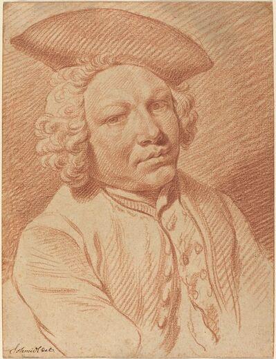 Georg Friedrich Schmidt, 'Portrait of a Man in a Tricorn Hat'