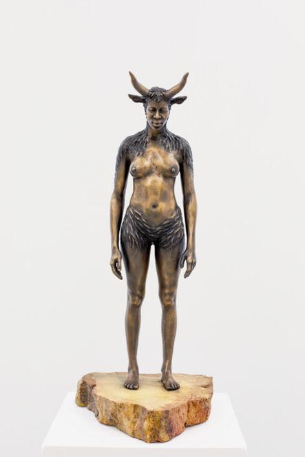 Nandipha Mntambo, 'Maquette for Minotaurus', 2015