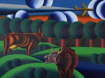 Oleg Khvostov, 'MALEVICH'S COWS ', 2015