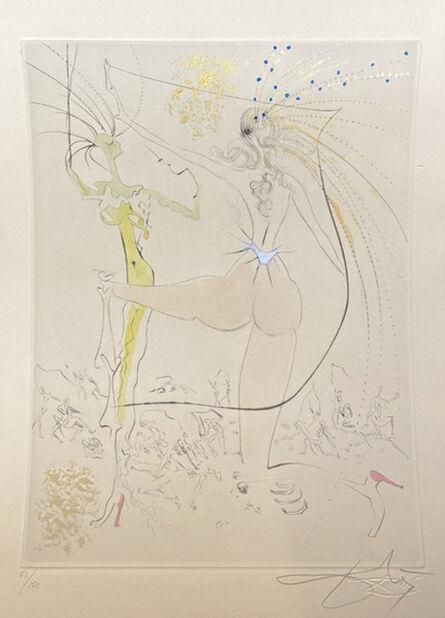 Salvador Dalí, 'Venus in Furs: The Egrets', 1969
