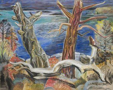 Marguerite Zorach, 'Shore in Autumn', 1964