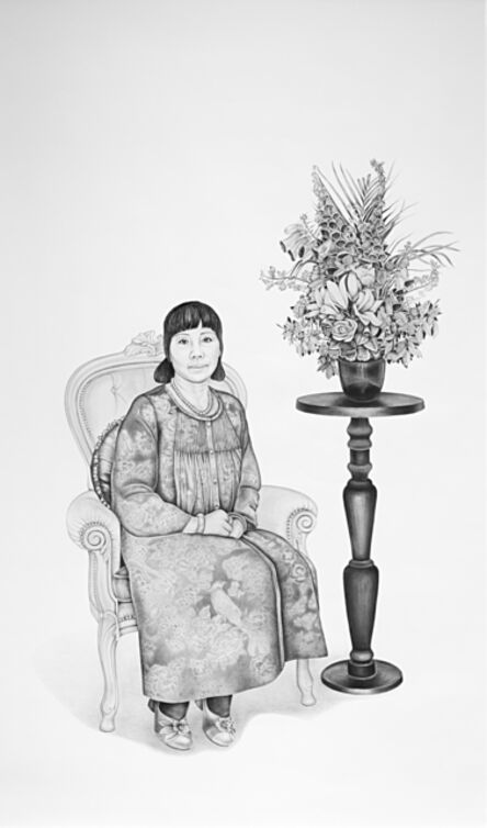 Henna Pohjola, '自由, Free, Portrait of Shi Janni', 2017
