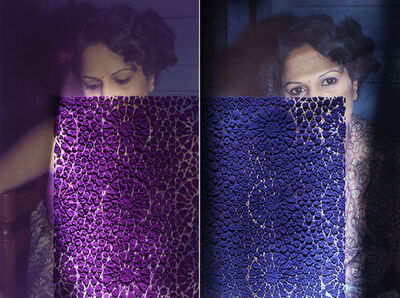 Priya Kambli, 'Purple Muma's', 2017