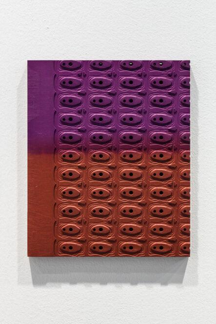 Johannes Wohnseifer, 'Aluminum Painting (orange_pink)', 2021