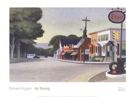Edward Hopper, 'Portrait of Orleans (1950)', 1991