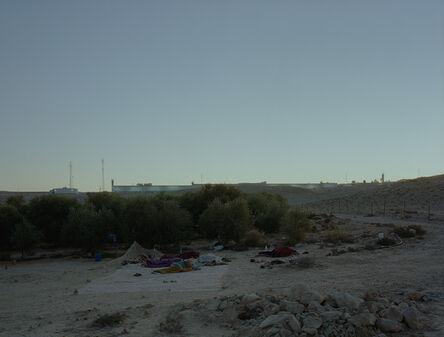 Jeff Wall, 'Daybreak (on an olive farm/Negev Desert/Israel)', 2011