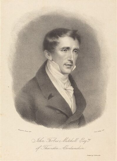 M. Gauci after John James Masquerier, 'John Forbes Mitchell', 1823