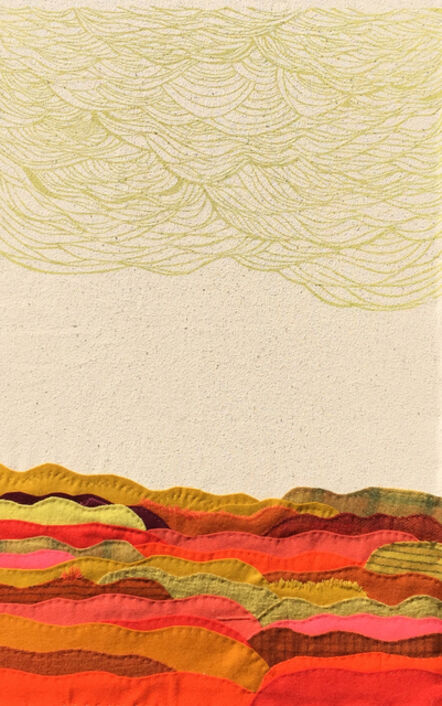 Kathryn Hunter, 'Sea-Ablaze', 2015