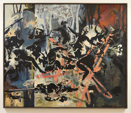 Uwe Wittwer, 'Bacchanal after Poussin', 2015