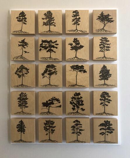 Reinhard Reitzenstein, 'Pine Panel', 2015