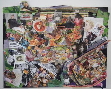 Lita Goldberg, 'Artist's Table', 2019
