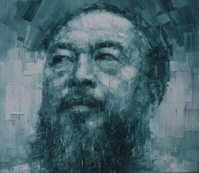 Adam Chang, 'Portrait of Ai Weiwei C', 2015