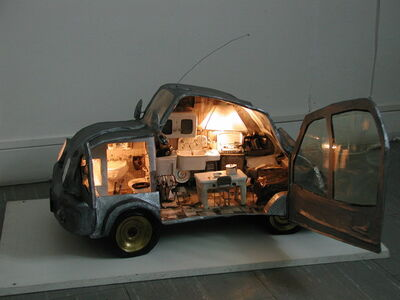Paola Risoli, 'Living car', 2004