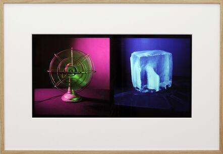 John Divola, 'Dyptichs / Untitled (83DPT10) Fan & Ice', 1983