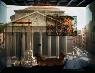 Abelardo Morell, 'Camera Obscura: The Pantheon in Hotel Albergo del Sole Room #111, Rome, Italy', 2008