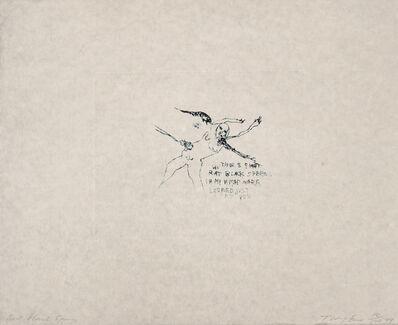 Tracey Emin, 'Rat Black Sperm', 2009