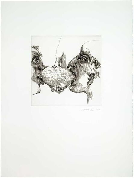 Marisol, 'I Hate You', 1973