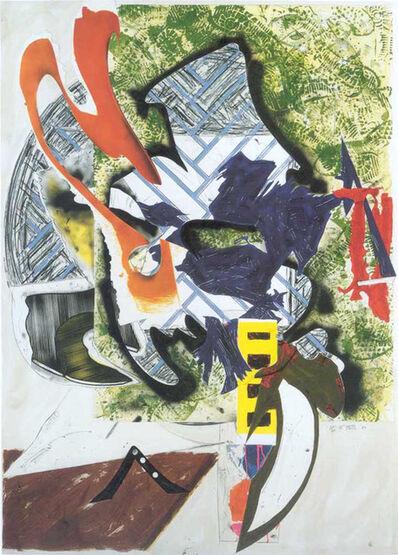 Frank Stella, 'Ahab's Leg', 1985-1989