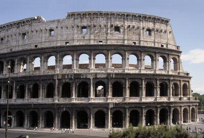 'Colosseum (Flavian Amphitheater)', 70-82 A.D.