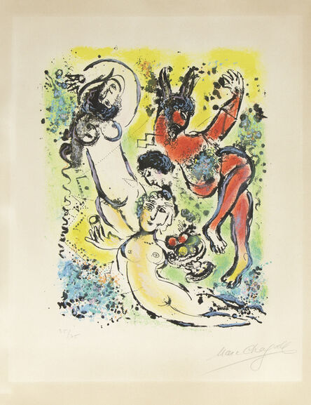 Marc Chagall, 'from Sur la Terre des Dieux', 1967